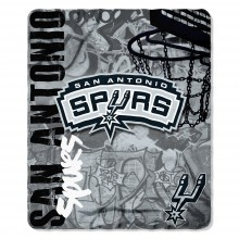 NBA San Antonio Spurs Hardknocks Fleece Throw Blanket