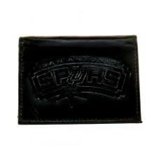 San Antonio Spurs Black Leather Wallet