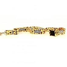 San Antonio Spurs Leopard Spots Breakaway Lanyard Key Chain