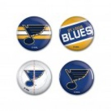 """NHL Officially Licensed St. Louis Blues 1 1/4"""" buttons"""