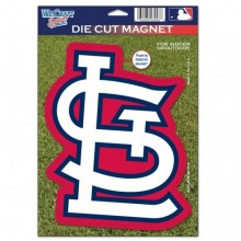 "St. Louis Cardinals 6.25"" x 9"" STL Die-Cut Magnet"