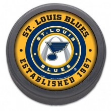 NHL Officially Licensed St. Louis Blues Classic Hockey Puck