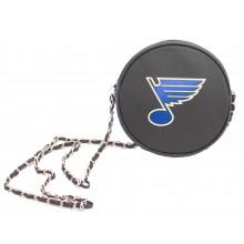 NHL St. Louis Blues  Hockey Puck Crossbody Purse