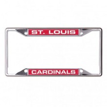 St Louis Cardinals  Inlaid License Plate Frame