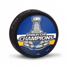 NHL Officially Licensed St. Louis Blues 2019 Stanley Cup Champions Hockey Puck