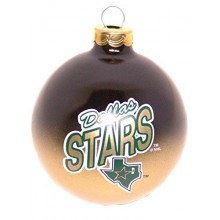 Dallas Stars Glass Ball Ornament