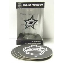 Dallas Stars Pint and Coaster Set