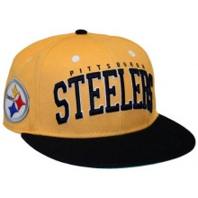 Pittsburgh Steelers 3-D Flat Bill Adjustable Hat Cap Lid
