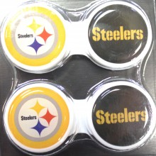 Pittsburgh Steelers 2 Pack Contact Lens Case