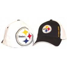 Pittsburgh Steelers Big Logo Flexfit Baseball Hat