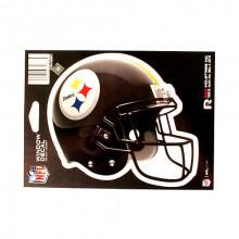 """Pittsburgh Steelers 6"""" Helmet Die-Cut Window Decal"""