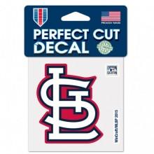 "St. Louis Cardinals 4"" X 4"" STL Perfect Cut decal"