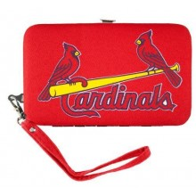 St. Louis Cardinals Distressed Wallet Wristlet Case