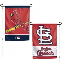 "St. Louis Cardinals Double Sided 12.5"" x 18"" Garden Flag"