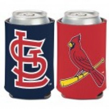 St. Louis Cardinals 2 Sided Design Can Cooler Koozie