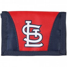St. Louis Cardinals Tri-Fold Nylon Chamber Wallet