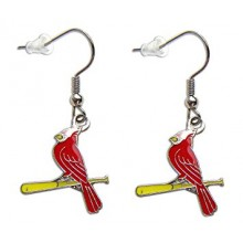 MLB St. Louis Cardinals Dangle Earrings