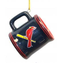 St. Louis Cardinals Ceramic Mini Mug Ornament