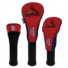 St. Louis Cardinals Set of 3 Golf Headcovers