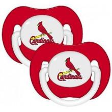 St. Louis Cardinals Baby Fanatics 2 Pack Pacifiers