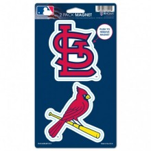 St. Louis Cardinals 2 Pack Magnets