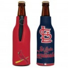 St. Louis Cardinals 2 Sided Design Bottle Koozie