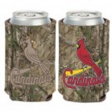 St. Louis Cardinals Camo Design Can Cooler Koozie