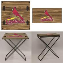 St. Louis Cardinals Folding Armchair Table