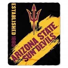 Arizona State Sun Devils Established Fleece Throw Blanket