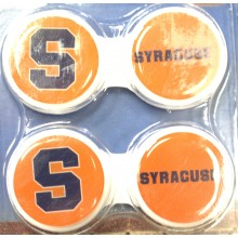 Syracuse Orange Contact Lens Case 2 Pack
