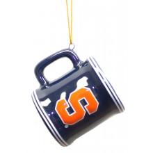 Syracuse Orange Ceramic Mini Mug Ornament