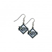 Tampa Bay Rays Logo Dangle Earrings