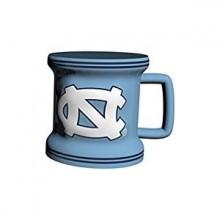 North Carolina Tar Heels 2 oz Mini Mug Shot Glass