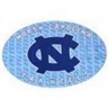 """North Carolina Tar Heels 3-D 9"""" X 6"""" Oval Ultradepth Hologram Magnet"""