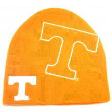 NCAA Officially Licensed Tennessee Volunteers Orange Large Logo Embroidered Beanie