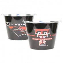 Texas Tech Red Raiders 5 Qt. Black Aluminum Ice Bucket