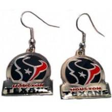 Houston Texans Bar Style Dangle Earrings