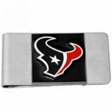 Houston Texans Bar Money Clip