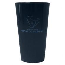 Houston Texans 16 oz Glitter Pint Glass