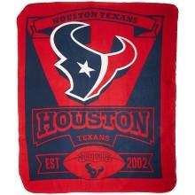"Houston Texans 50"" x 60"" Marque Fleece Throw Blanket"