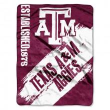 Texas A&M  Established Fleece Throw Blanket