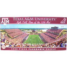 Texas A&M Aggies 1000 pc. Panoramic Puzzle
