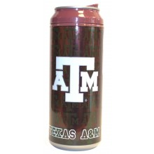 Texas A&M Aggies Cool Gear 16 oz  Insulated Travel Drink Can