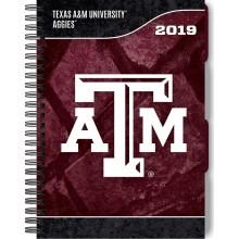 Texas A&M Aggies 2019 Tabbed Planner Personal Organizer