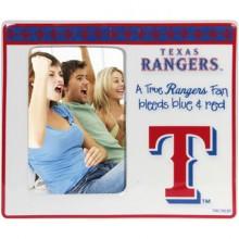 Texas Rangers Vertical Ceramic Photo Frame