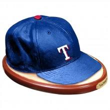 Texas Rangers Baseball Cap Replica Statue