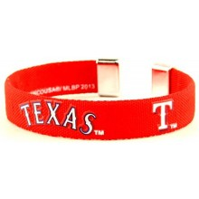 Texas Rangers Ribbon Band Bracelet