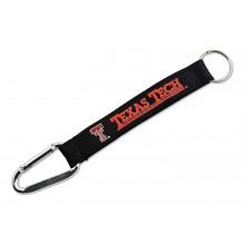 NCAA Texas Tech Red Raiders Carabiner Lanyard Key Chain