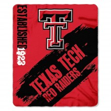 Texas Tech Red Raiders Established  Fleece Throw Blanket
