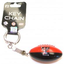Texas Tech Red Raiders Hanging Football Keychain